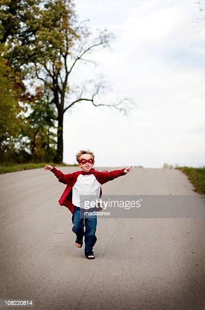 Flying superboy