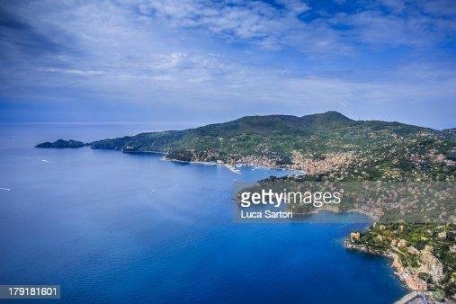 Flying to Portofino