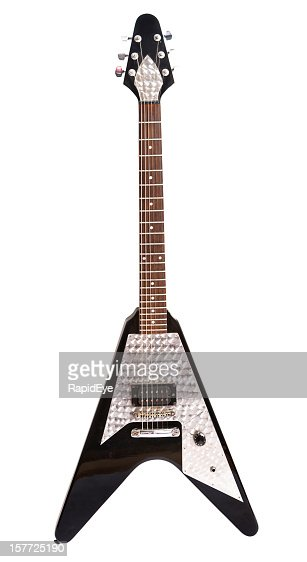 'Flying V' electric guitar