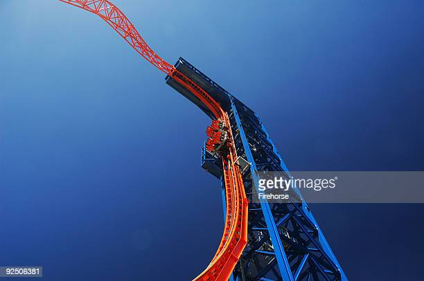 Flying with the roller coaster