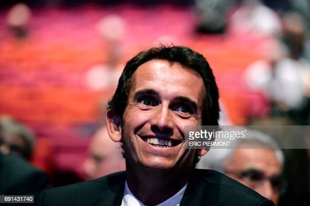 Fnac Darty Chairman and Chief Executive Officer Alexandre Bompard member of the Board of Directors of French telecom group Orange attends Orange's...