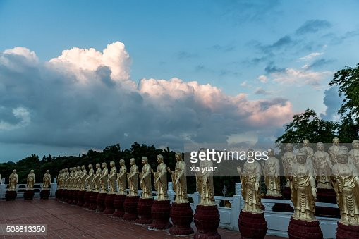 Fo Guang Shan Monastery,Kaohsiung,Taiwan,China : Stock Photo