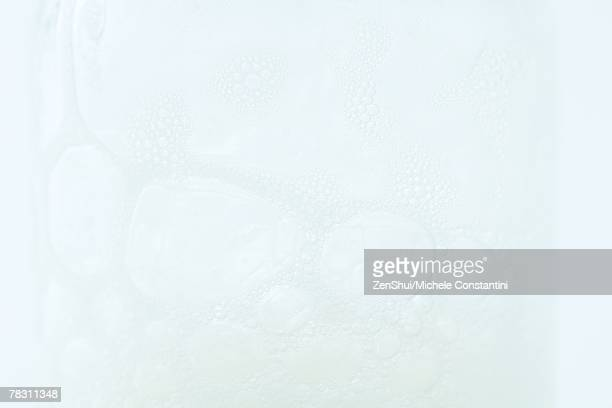 Foam bubbles, extreme close-up