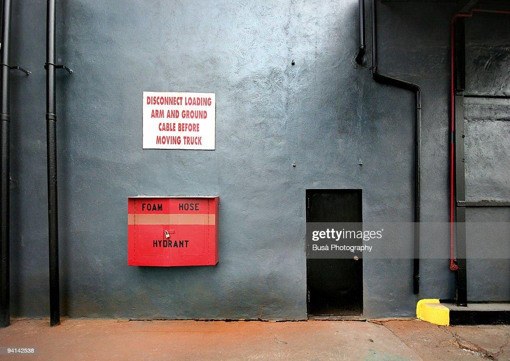 Foam Hose Hydrant : Stock Photo
