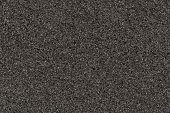 Photo of a background of black foam rubber