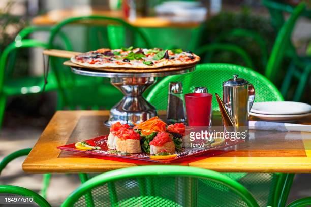 Focaccia and Pizza