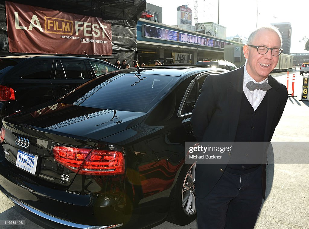 Focus Features' CEO <a gi-track='captionPersonalityLinkClicked' href=/galleries/search?phrase=James+Schamus&family=editorial&specificpeople=628217 ng-click='$event.stopPropagation()'>James Schamus</a> arrives at Focus Features' Premiere of 'Seeking A Friend For The End Of The World' at LA Live on June 18, 2012 in Los Angeles, California.