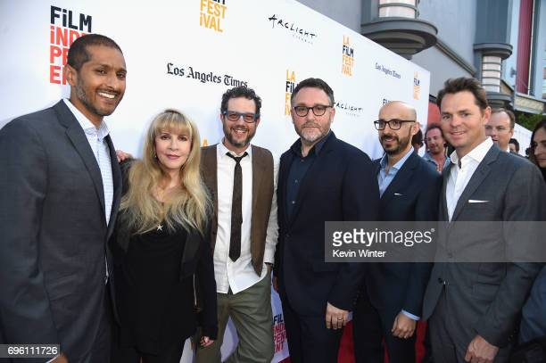 Focus Features COO Abhijay Prakash singersongwriter Stevie Nicks composer Michael Giacchino director Colin Trevorrow Focus Features Chairman Peter...