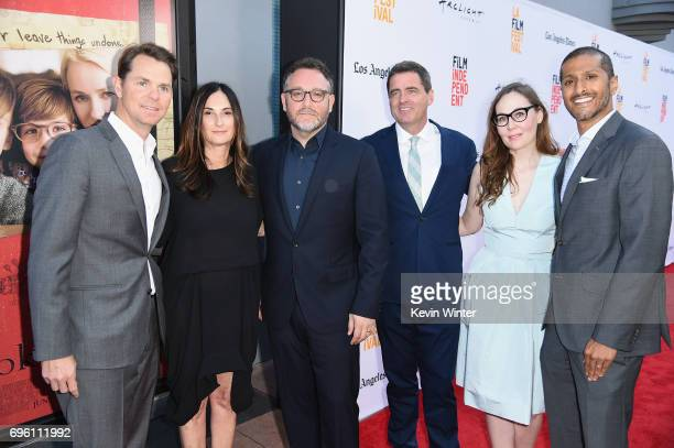 Focus Features President of Marketing Jason Cassidy Sidney Kimmel Entertainment President of Production Carla Hacken director Colin Trevorrow Film...