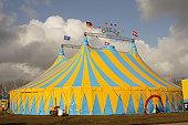 Focus on Circus tent