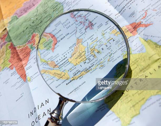 Concentrarsi in Indonesia