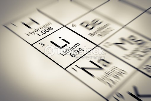 Focus on lithium chemical element from the mendeleev periodic table focus on lithium chemical element from the mendeleev periodic table stock photo urtaz Gallery