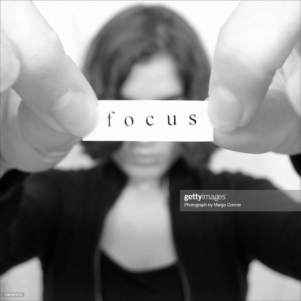 Focus : Stock Photo