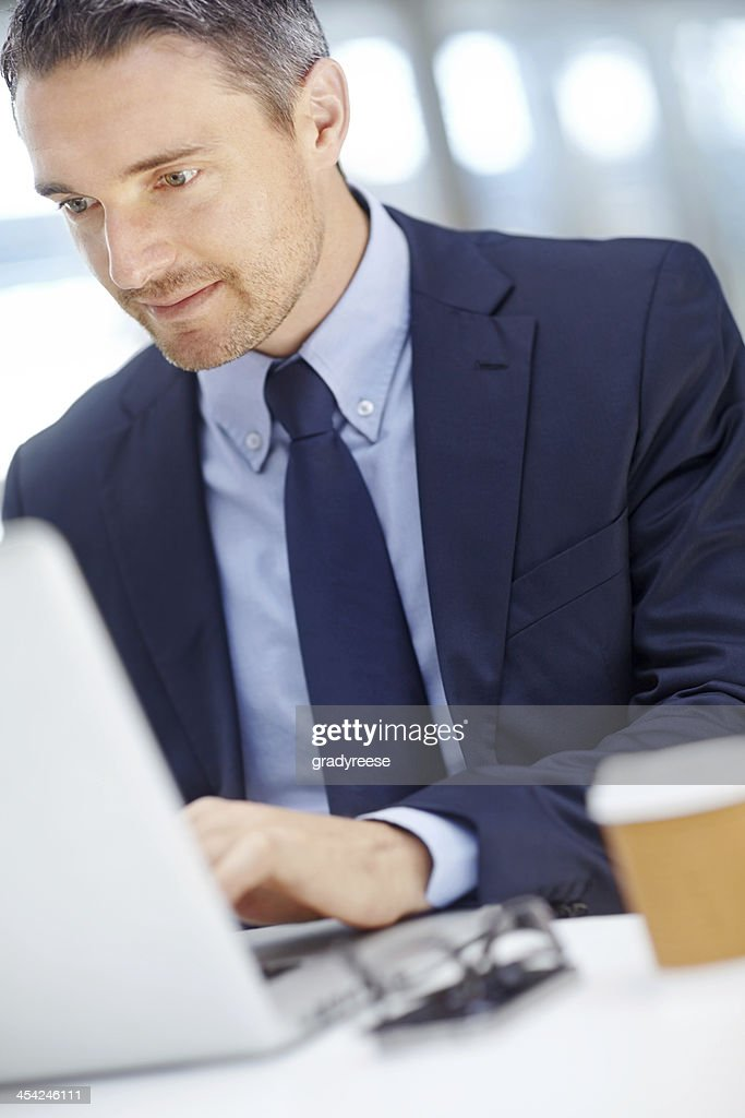Focused on the job at hand : Stock Photo