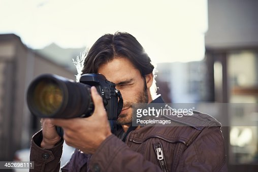Focusing on his photography skills