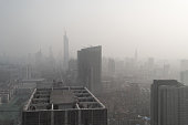 Fog and Haze in China, air pollution is very serious