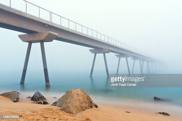 fog at 'pont del petroli'