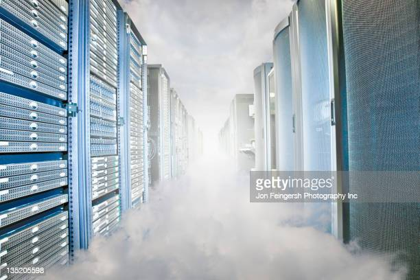 Fog in server room