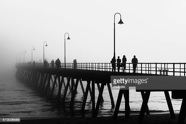 Foggy Afternoon at Glenelg Jetty