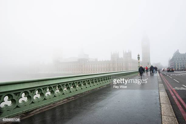 Foggy day in Westminster