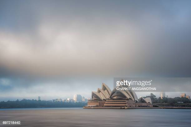 Foggy Morning at Sydney Opera House