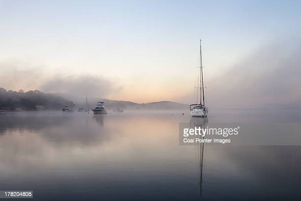 Foggy Morning on Lake Macquarie