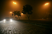 Foggy Night in Rio de Janeiro