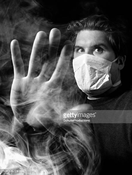 Foggy Smokey maskierte Mann