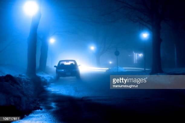 霧の Street