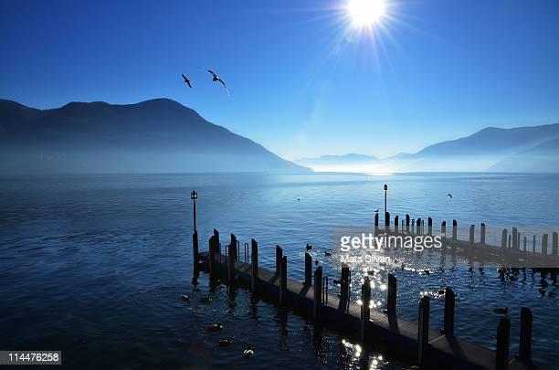 Foggy & Sunny Lake Maggiore