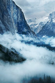 Foggy Yosemite Valley