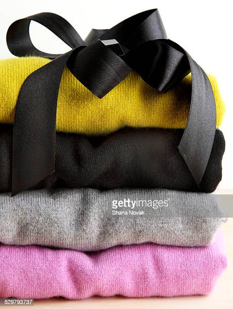 Folded Cashmere Sweaters