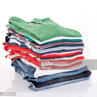 folded shirt stock photos and pictures getty images