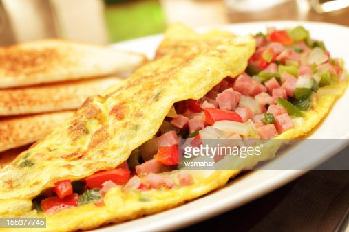 Folded omelette ingredients?