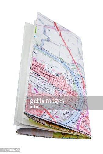 Folded Map Right