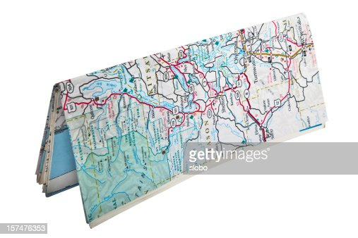 Folded Map Standing