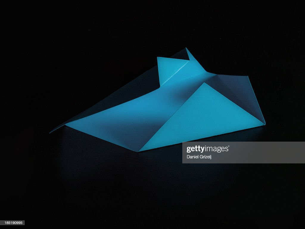 folded paper : Stock Photo