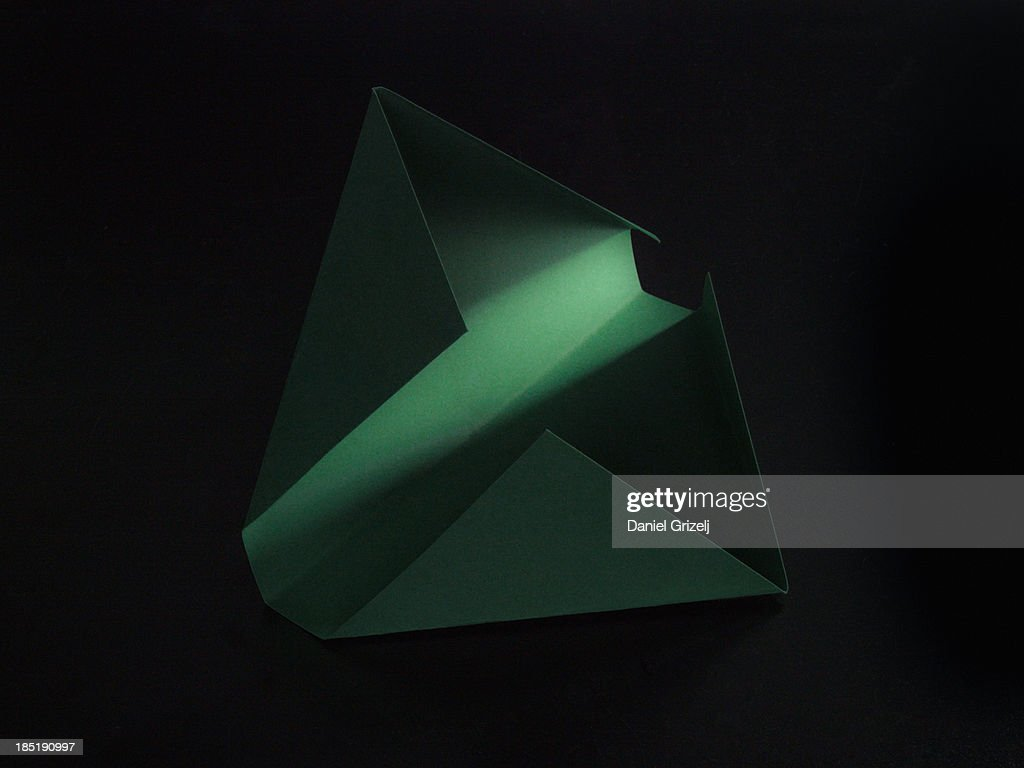 folded paper : Stock Photo