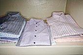 Folded shirts