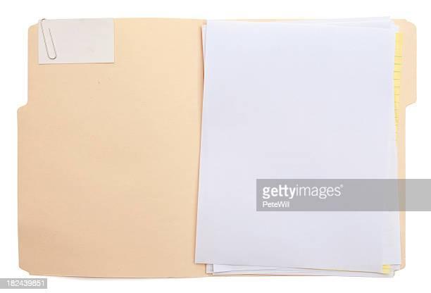 Dossier & papier (w/path