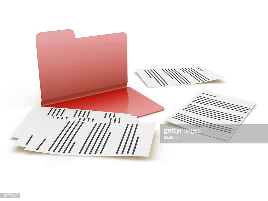 Folder and Files : Stock Photo