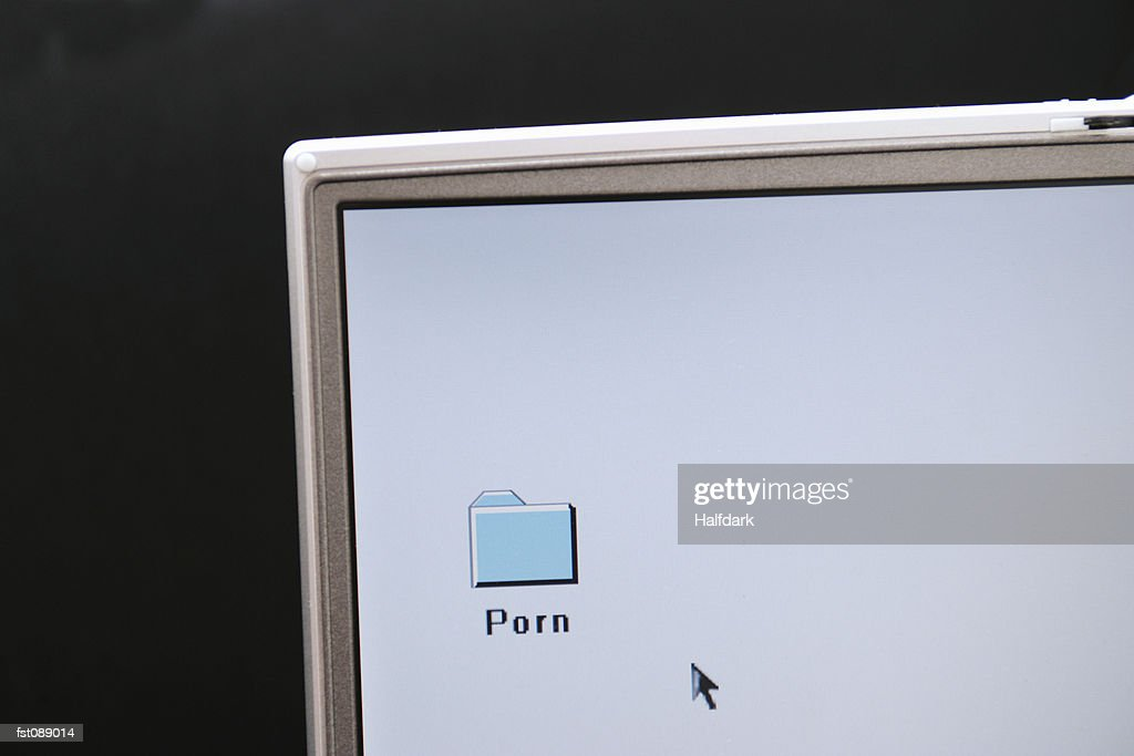Folder on a computer desktop