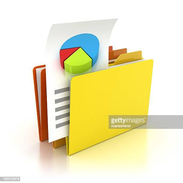 Folder - Pie chart