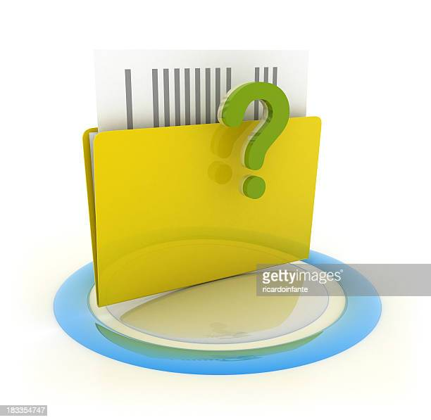 Folder - Question Sign