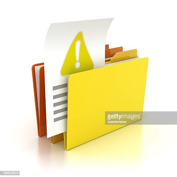 Folder - Warning Sign