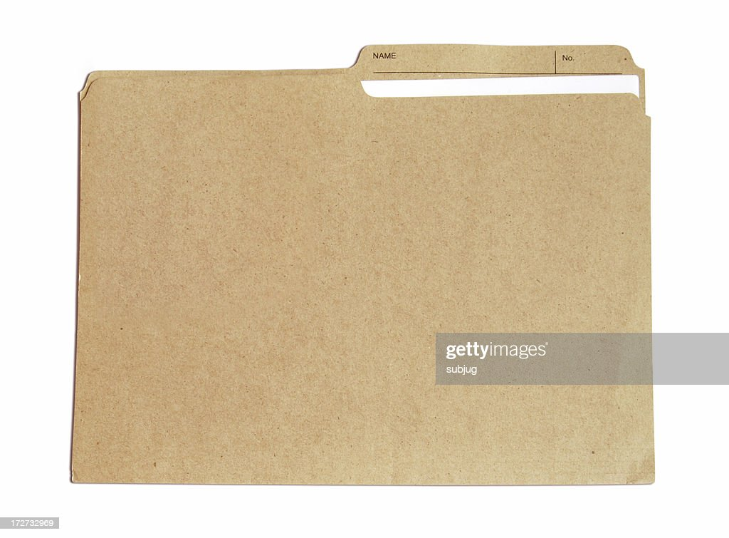 Folder with document