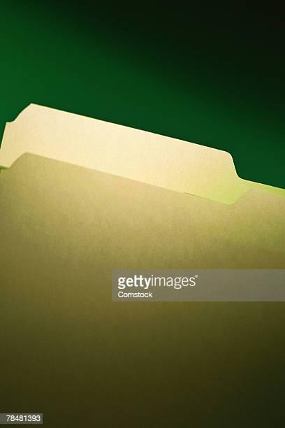 Folder with tab