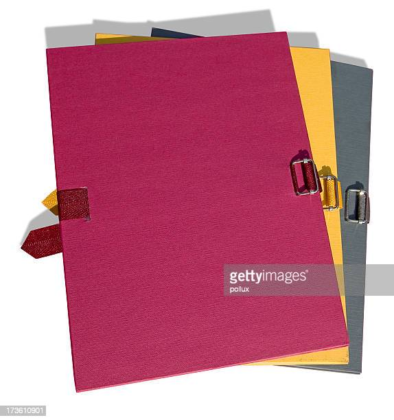 Folders (with clipping path)