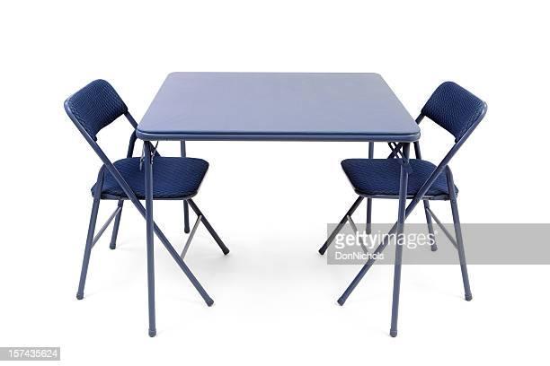 Plegable Tarjeta de mesa y sillas