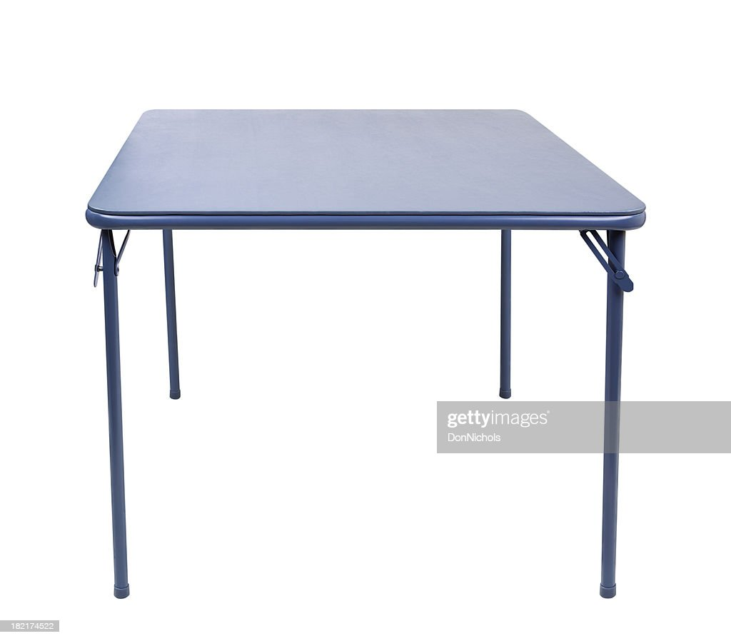 Folding Table Isolated